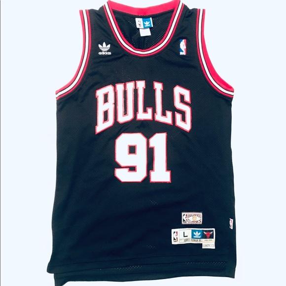 Diagnosticar Prever Pero  adidas Shirts | Chicago Bulls Dennis Rodman Adidas Nba Jersey | Poshmark